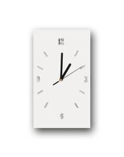 Zegar ścienny szklany 33/20 cm w sklepie Dedekor.pl