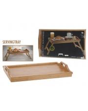 Taca drewniana do łóżka 50x30 cm w sklepie Dedekor.pl