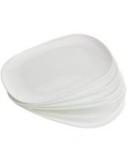 Półmisek Carine biały  35/24 cm w sklepie Dedekor.pl