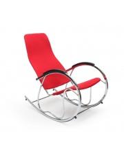 BEN 2 rewelacyjny fotel bujany czerwony w sklepie Dedekor.pl