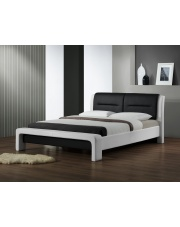 Łóżko z ekoskóry CASSANDRA