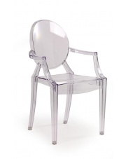 K91 świetne bezbarwne krzesło w sklepie Dedekor.pl