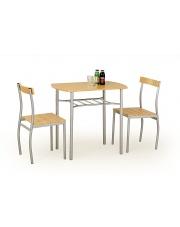 Zestaw stołowy dla dwóch osób LANCE buk w sklepie Dedekor.pl