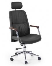 Wygodny fotel gabinetowy PATRIC czarny