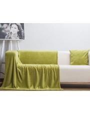 Koc CORAL zielona oliwka 150x200 cm  w sklepie Dedekor.pl