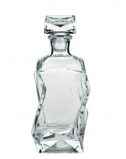 Łamana karafka szklana 0,75 L w sklepie Dedekor.pl