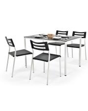 Stół i krzesła do kuchni Creola -2 kolory w sklepie Dedekor.pl
