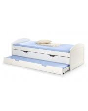 Dwuosobowe łóżko z wysuwanym materacem LAGUNA w sklepie Dedekor.pl