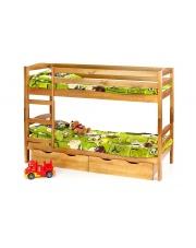 Piętrowe łóżko z materacami SAM w sklepie Dedekor.pl