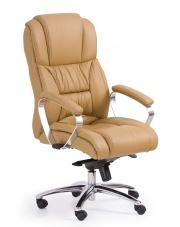 Skórzany fotel gabinetowy beżowy