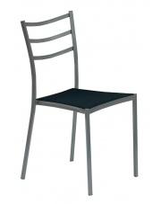 K159 krzesło, stelaż - popiel, siedzisko - czarny (1p=4szt) w sklepie Dedekor.pl
