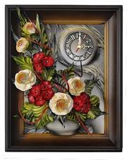 Zegar w ramie 40x50 cm  w sklepie Dedekor.pl
