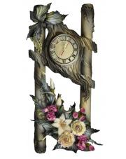 Zegar ręcznie wykonany skóra 18.3 w sklepie Dedekor.pl