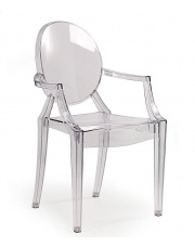 Krzesło bezbarwne Dinos w sklepie Dedekor.pl