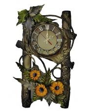 Zegar ścienny ze skóry 14ZE