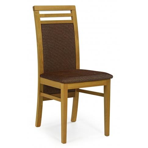 Stylowe Krzesło Z Drewna Do Salonu Sylwek 4 Olcha Meble