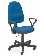 Krzesło obrotowe do biura BRAVO niebieskie w sklepie Dedekor.pl