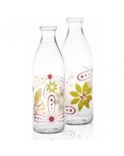 Butelka na mleko kwiaty w sklepie Dedekor.pl