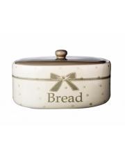 Chlebak ceramiczny kokarda
