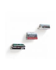 Minimalistyczny zestaw półek na książki LIBRA w sklepie Dedekor.pl