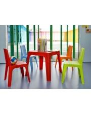 Czerwony stolik CLAUDE w sklepie Dedekor.pl