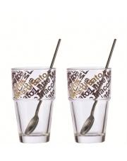 Zestaw szklanek do kawy latte GABRIELLE w sklepie Dedekor.pl