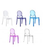 Krzesełko dziecięce MIA - 5 kolorów w sklepie Dedekor.pl
