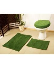 Zielony dywanik łazienkowy CELEBES w sklepie Dedekor.pl