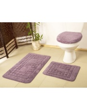 PEARL fioletowe dywaniki łazienkowe w sklepie Dedekor.pl