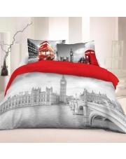 Pościel Londyn 3D 160 x 200 cm