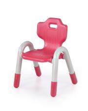 Czerwone krzesełko dziecięce BUNNY