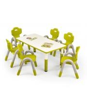 Zielony stolika dla dziecka RUFFO w sklepie Dedekor.pl