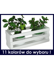 Skrzynka na kwiaty, balkonowa, dekoracyjna w sklepie Dedekor.pl