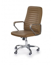 Komfortowy fotel gabinetowy EDMUND w sklepie Dedekor.pl