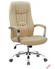 Piękny fotel do gabinetu JASMINE beżowy w sklepie Dedekor.pl