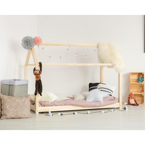 Łóżko dla dzieci domek w sklepie Dedekor.pl