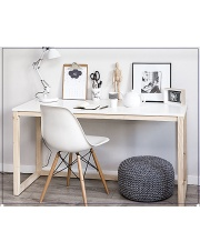 Skandynawskie biurko Inelo-T4 w sklepie Dedekor.pl