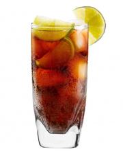 Komplet 6 szklanek wysokich drink 300 ml QUADRA KROSNO