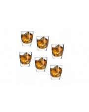 Komplet  6 szklanek do wisky 260 ml QUADRA KROSNO w sklepie Dedekor.pl