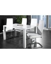 Stół doran 140 x 80 biały połysk  w sklepie Dedekor.pl