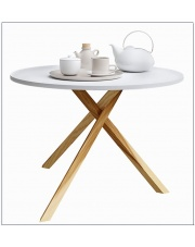 Okrągły stolik kawowy L6 w sklepie Dedekor.pl