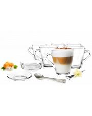 Zestaw do kawy, herbaty 18 el. szklany w sklepie Dedekor.pl