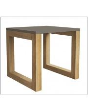 Skandynawski stolik drewniany ROZEN duży - kolory  w sklepie Dedekor.pl
