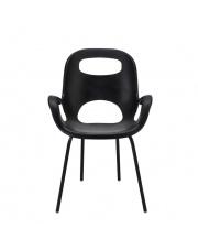 Nowoczesne krzesło MARYA czarne w sklepie Dedekor.pl