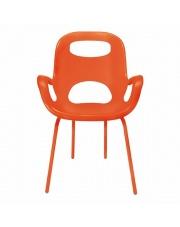 Wygodne krzesło MARYA pomarańczowe w sklepie Dedekor.pl