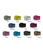 Nietuzinkowy fotel TILLI - 11 kolorów w sklepie Dedekor.pl