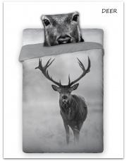 Pościel bawełniana Deer 160 x 200 cm  w sklepie Dedekor.pl
