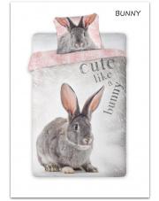 Pościel bawełniana Bunny 160 x 200 cm w sklepie Dedekor.pl