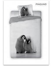 Pościel bawełniana pinguins 160 x 200 cm  w sklepie Dedekor.pl