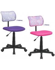 Komfortowy fotel obrotowy Didi - 2 kolory w sklepie Dedekor.pl